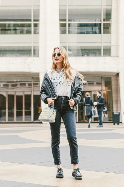 Street style is just as much a part of Fashion Week as the actual shows.