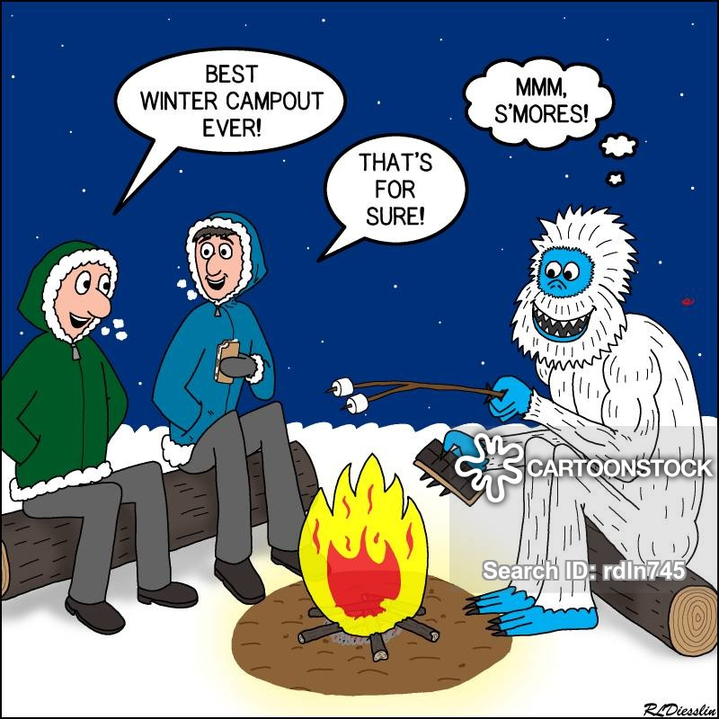 Winter Camp Cartoons and Comics - funny pictures from ...
