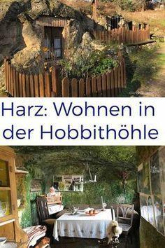 Höhlenwohnungen Langenstein: Bei den Hobbits im Harz #cavehouse