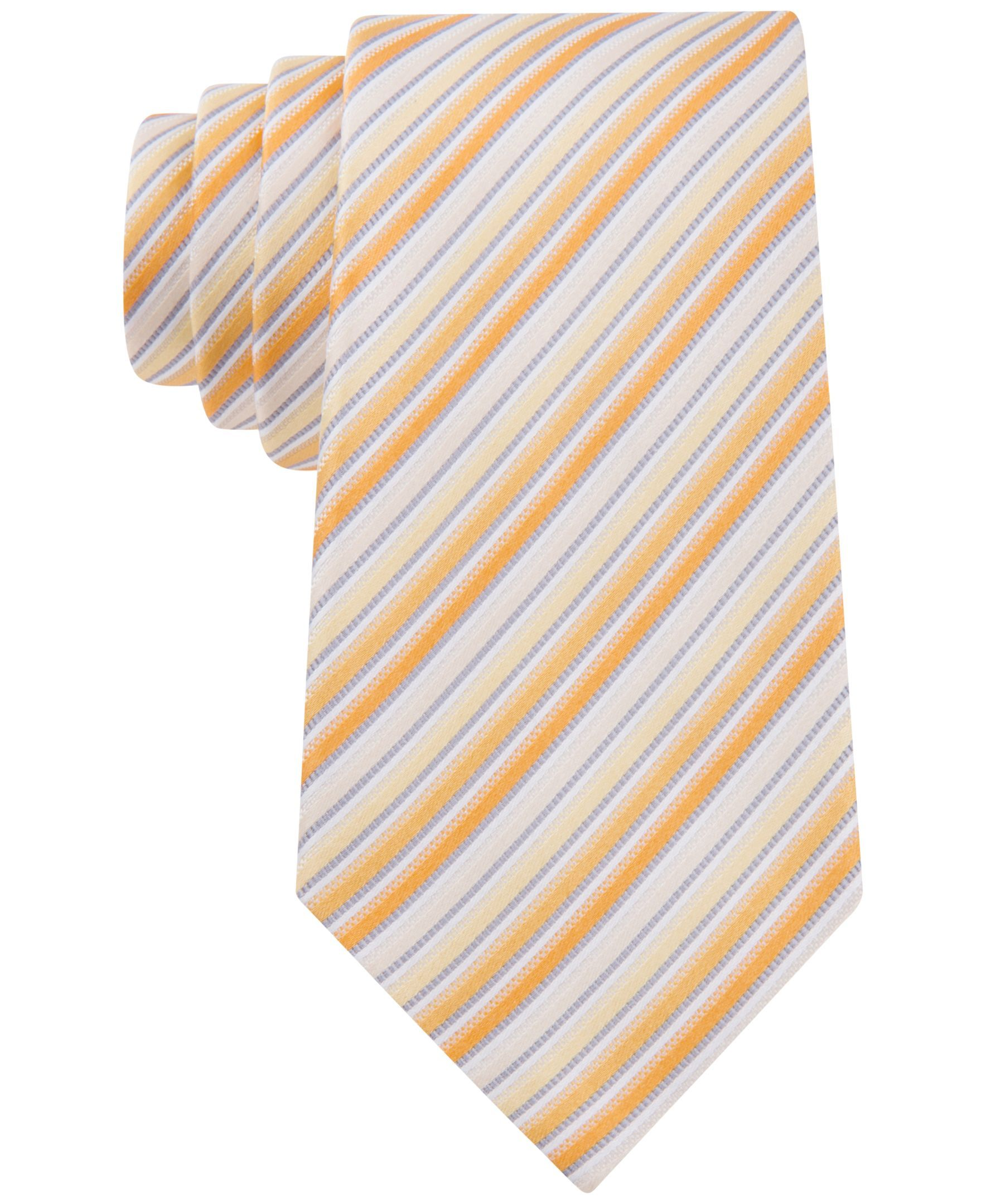 Geoffrey Beene Stripe Done Right Tie