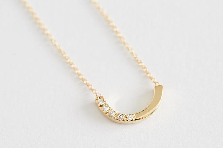 White Diamond Alwa Necklace