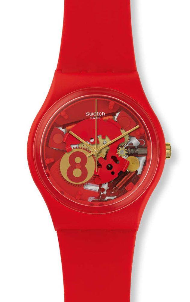 Reloj Swatch mujer eight for luck GR166  68a3aa61cf2f