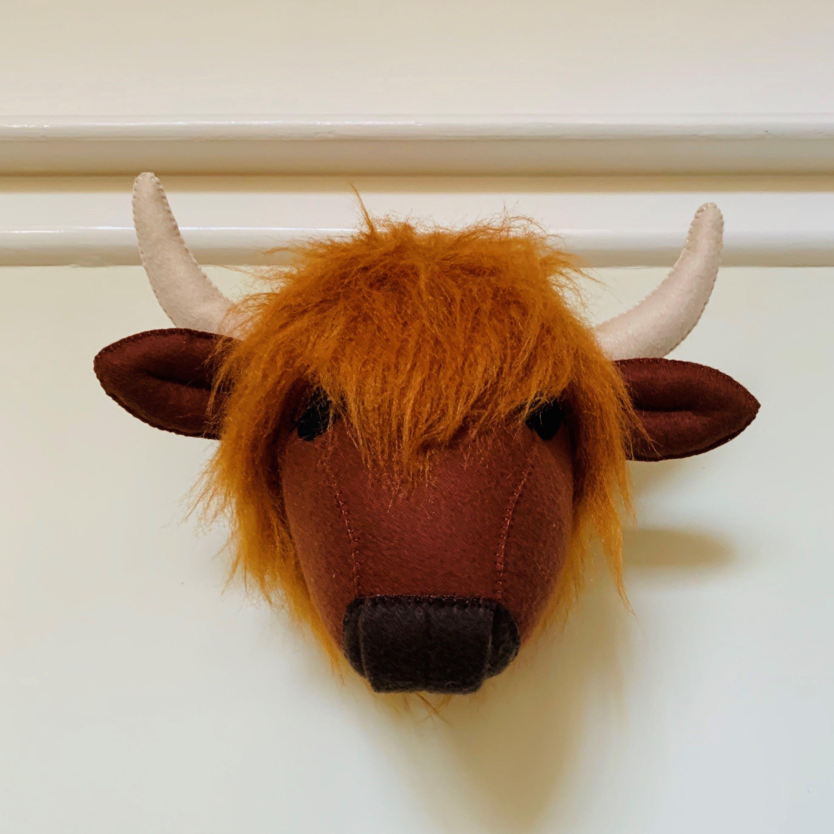 Pin On Felt Animal Head Wall Mount