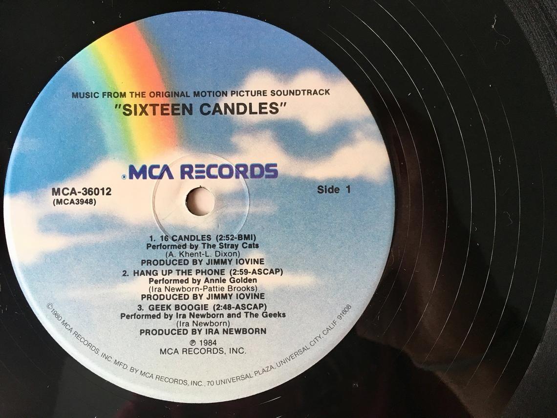 Sixteen Candles Original Motion Picture Soundtrack LP