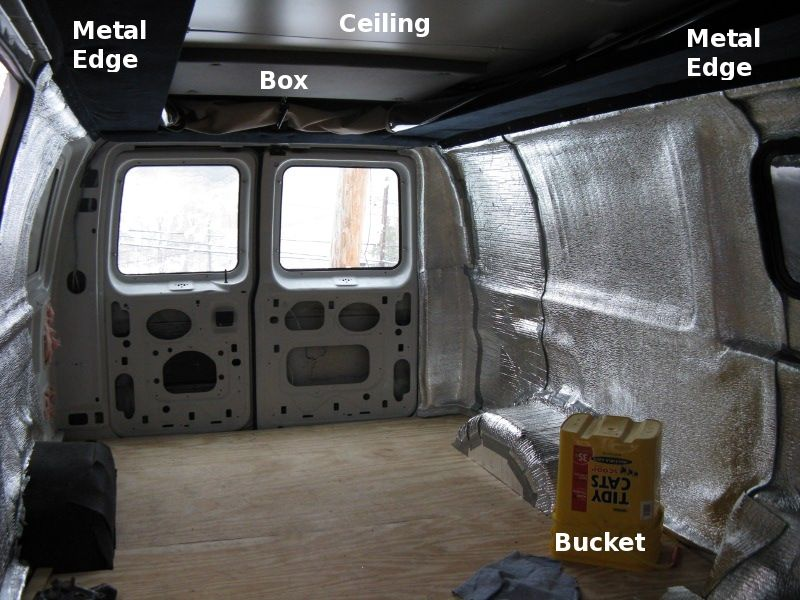 Converting A 1999 Ford E 250 Into Camper Van