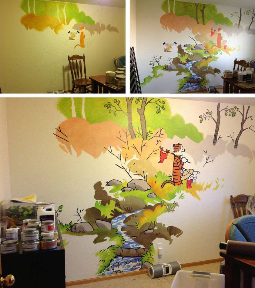 Calvin Hobbes Nursery By Frostdrake On Deviantart Calvin