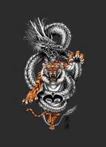 tiger dragon yin and yang wallpaper download the free tiger dragon
