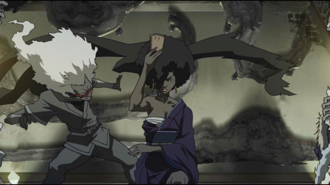 Black N Animated Black Anime Characters Afrofuturism Afro Samurai
