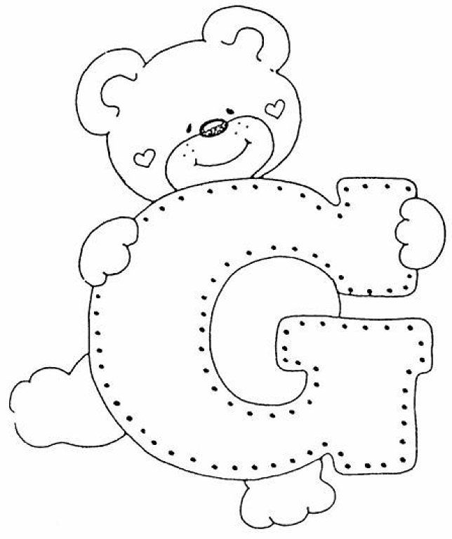 abecedario de ositos | Abecedario, Es facil y Osos