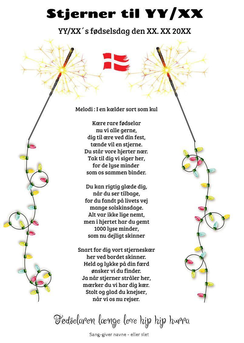 Fodselsdag Festsange Med Mere Fodselsdag Fodselsdag Humor 80 Ars Fodselsdag