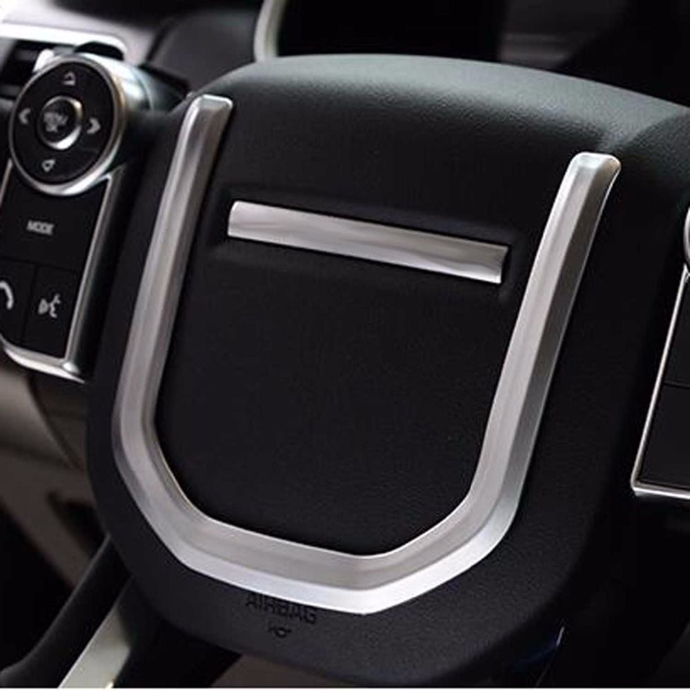 Steering Wheel Sequins Trim Sticker cover For Land Range