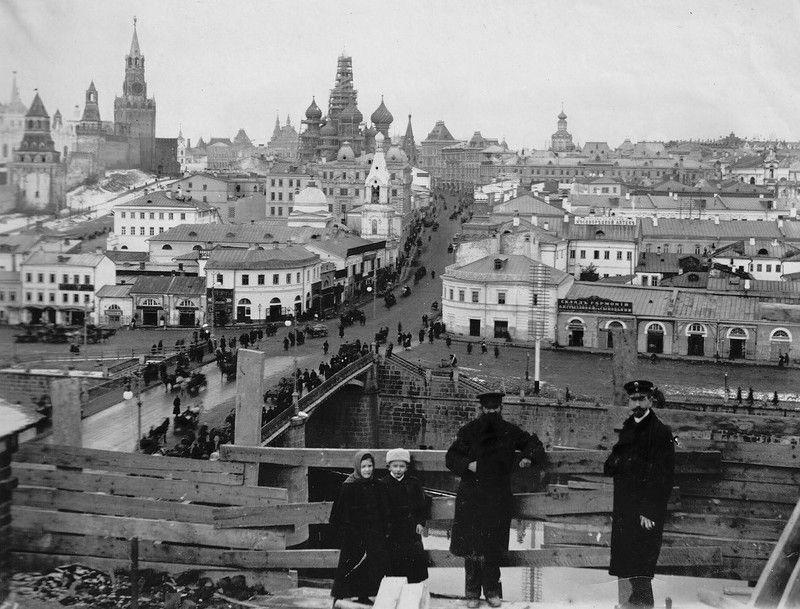идей старые фотографии москвы фото самая страшная