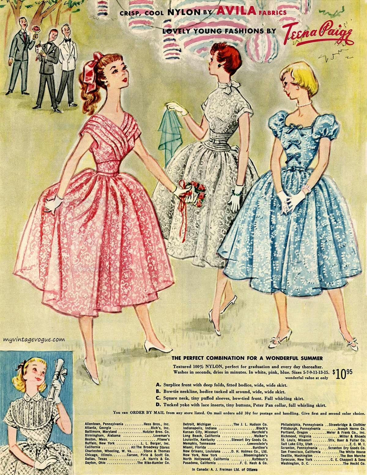 Pin De Julia Lassle En 50s Fashion Revistas De Moda Moda Vintage Dibujo Bonito
