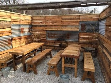 barn wood fence with tin siding incorporated. Swoon ...