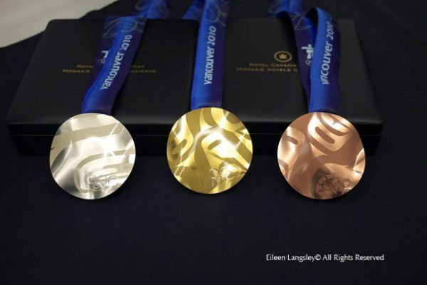2010 Olympic Gold Medals The vancouver