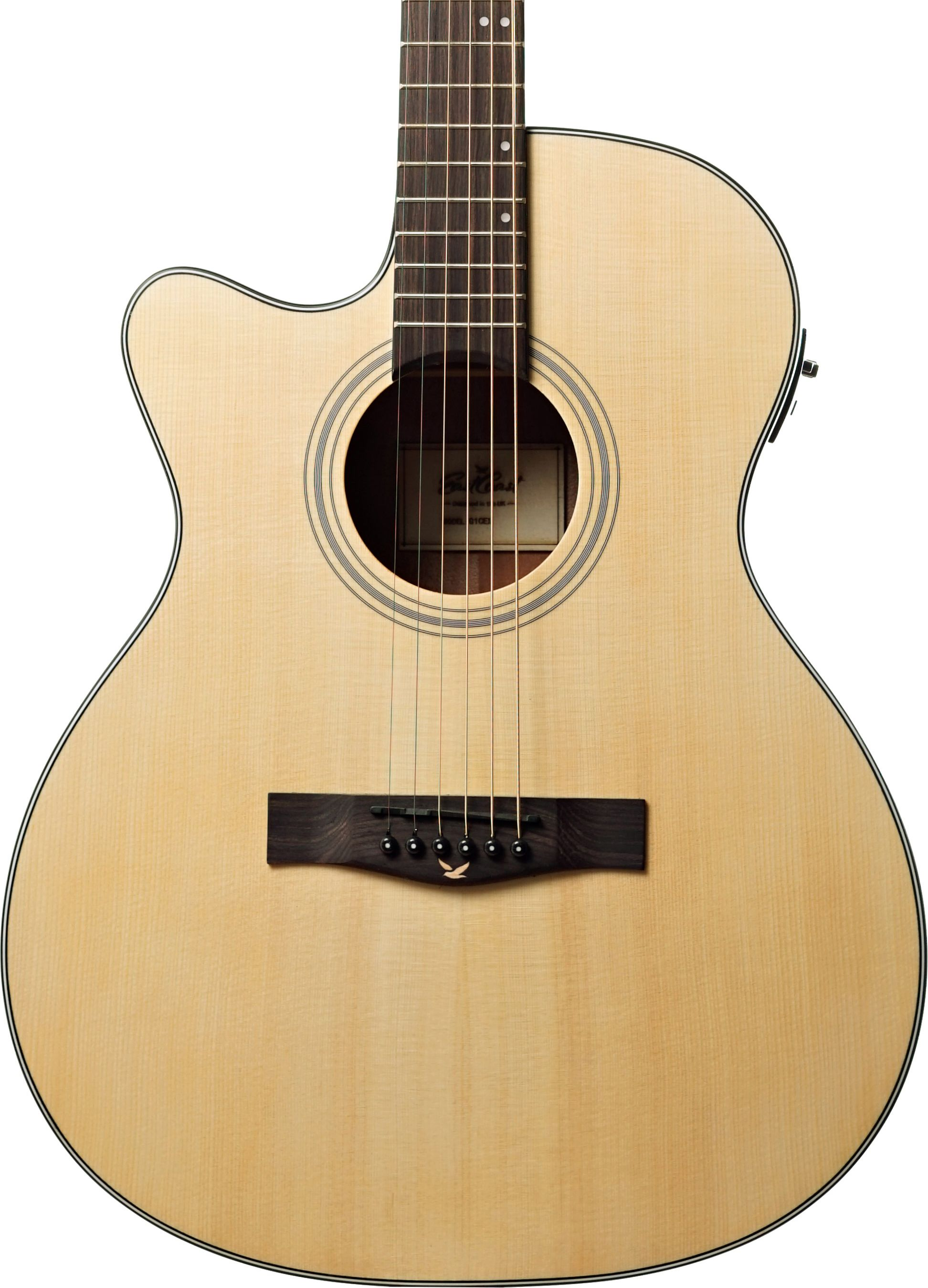 Eastcoast G1cel Grand Auditorium Left Handed Acoustic Guitar With Cutaway Built In Electronics In 2020 Guitar Acoustic Guitar Left Handed Acoustic Guitar