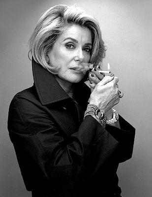 Catherine Deneuve-french chic & aging beautifully