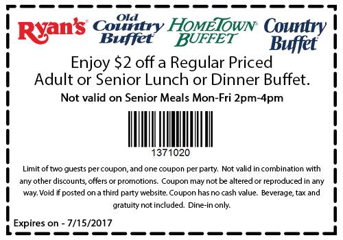 Hometown Buffet Coupons Shopping Deals Shopping Coupons Lunch Buffet Senior Meals