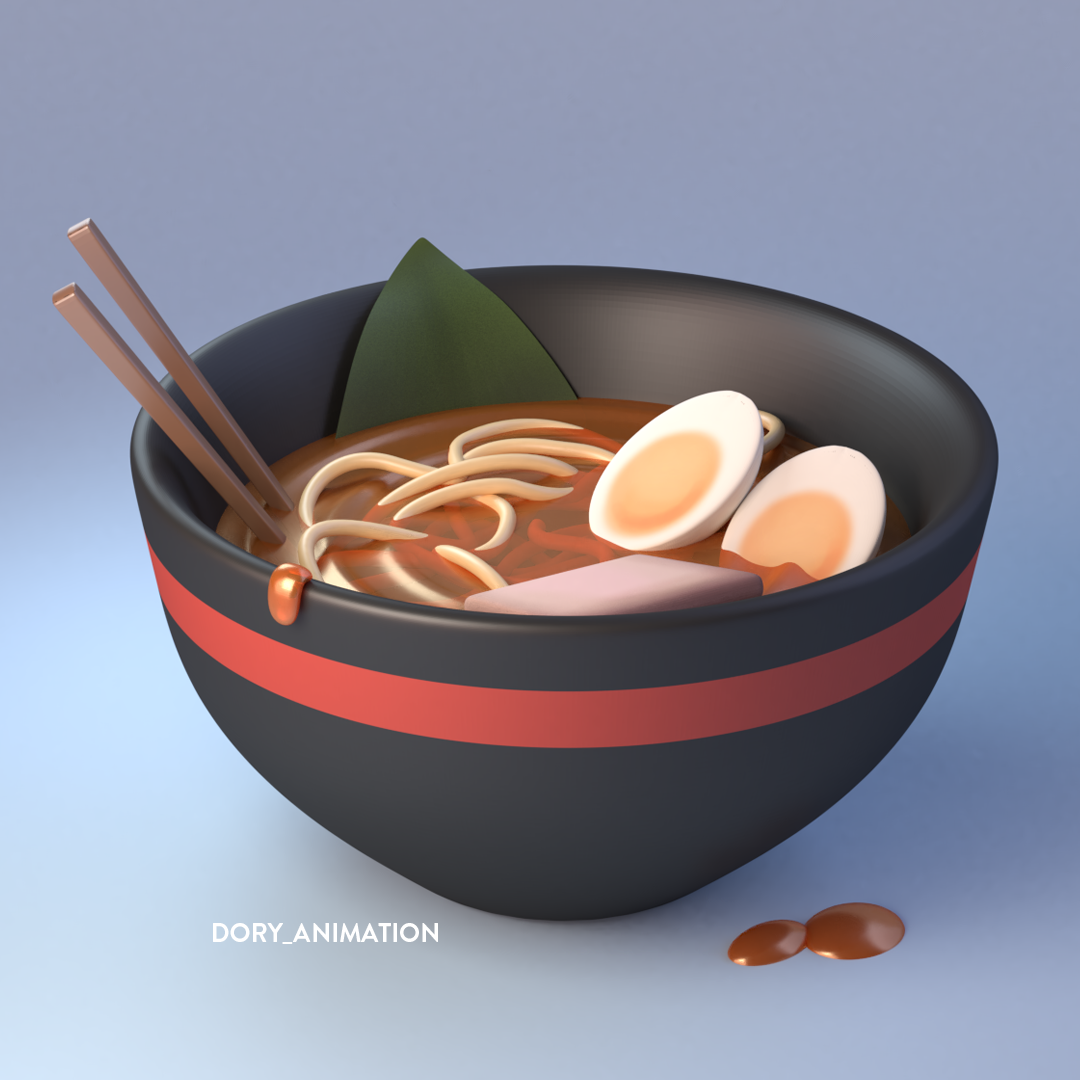 Pin By David Nam On 3d Models Gourmet Food Art Food Illustration Art Food Illustration Design