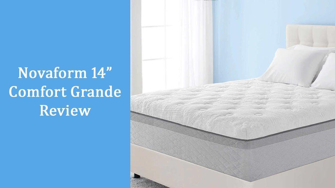 Novaform Comfort Grande Review 14 Inch Queen Memory Foam Mattress