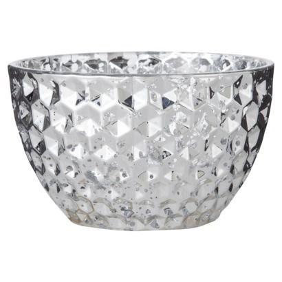 Threshold Glass Small Bowl Silver #targetawesomeshop