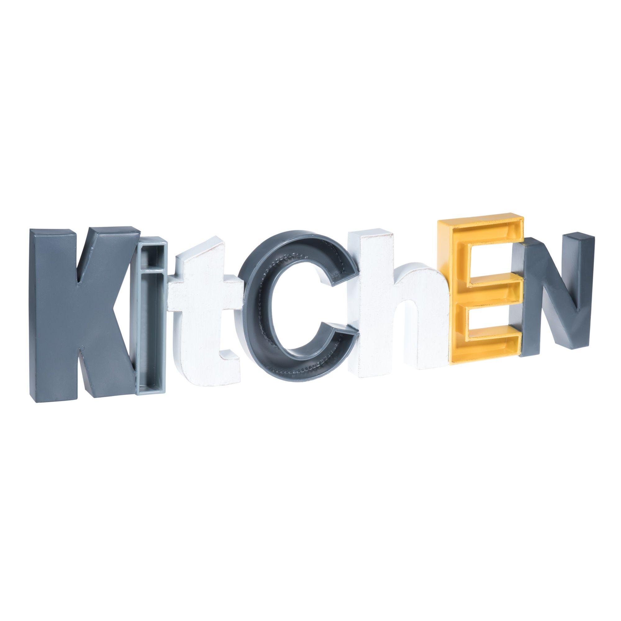 D Co Murale En M Tal 22 X 85 Cm Kitchen 39 99 Maisondumonde