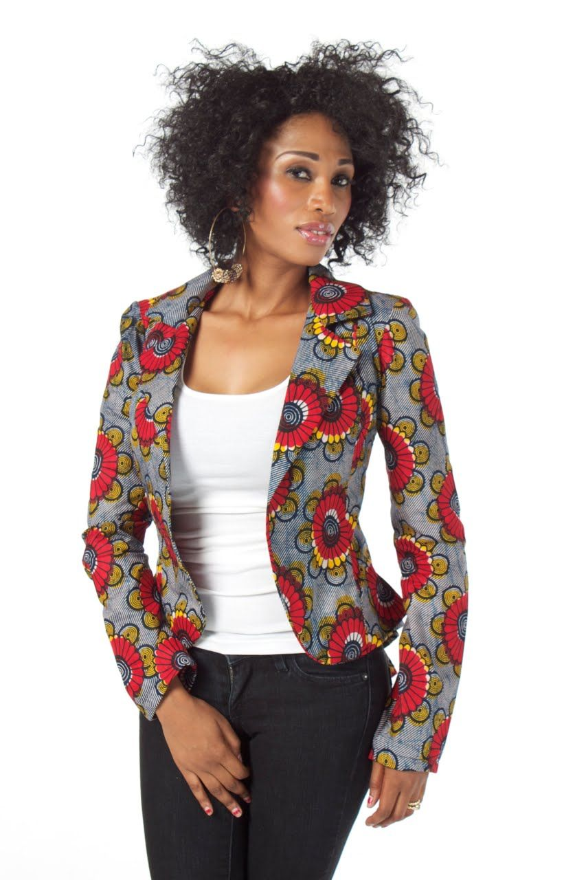 African print blazer styles are one of the best styles in