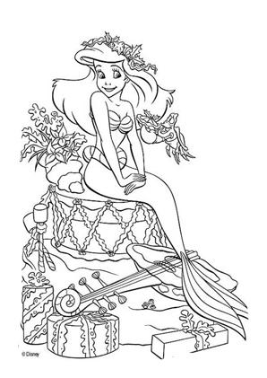 Arielle Die Meerjungfrau Ausmalbilder Malvorlage Prinzessin Disney Prinzessin Malvorlagen Ausmalbilder