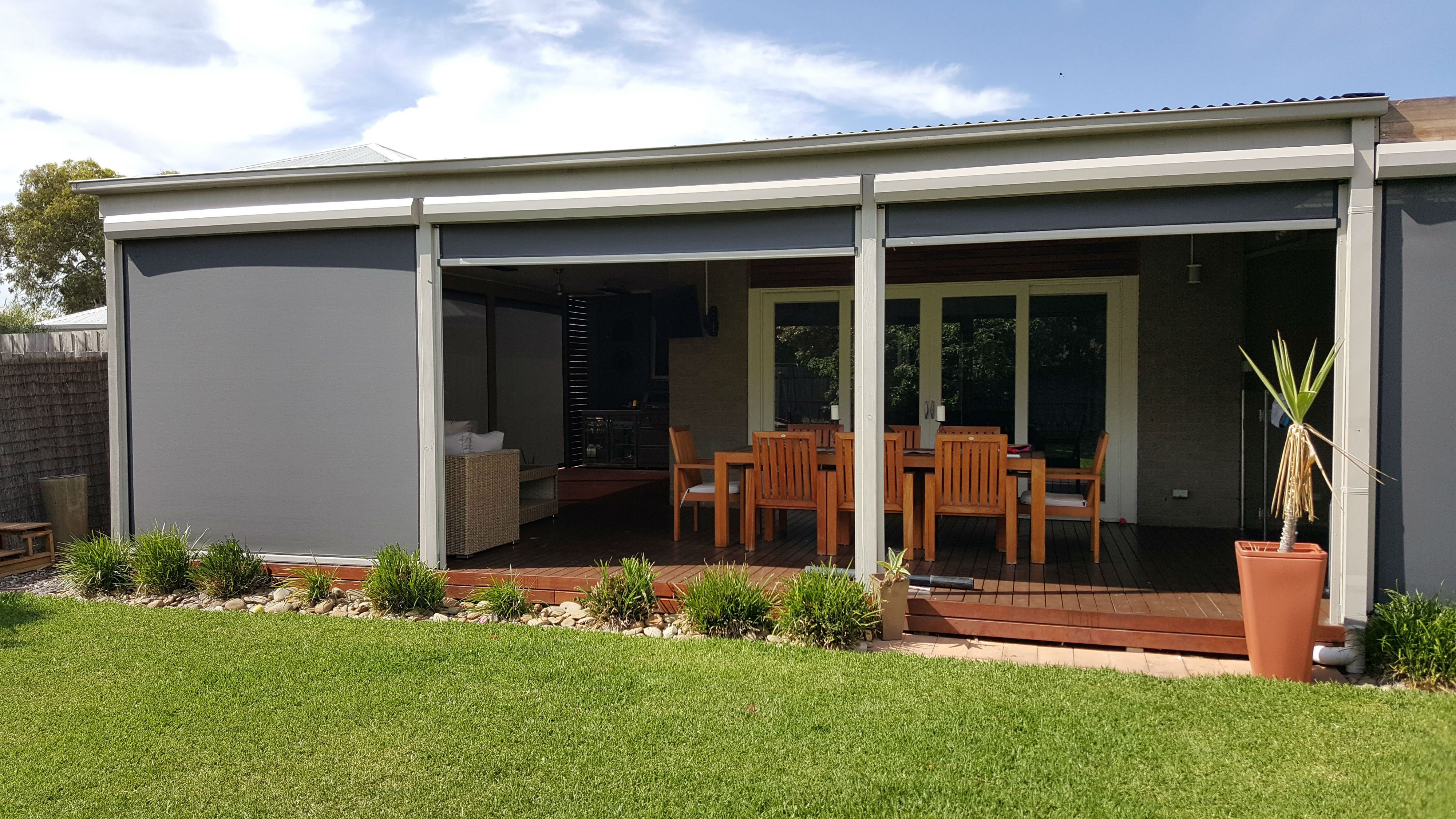 Create A Retreat With Outdoor Motorised Blinds On Your
