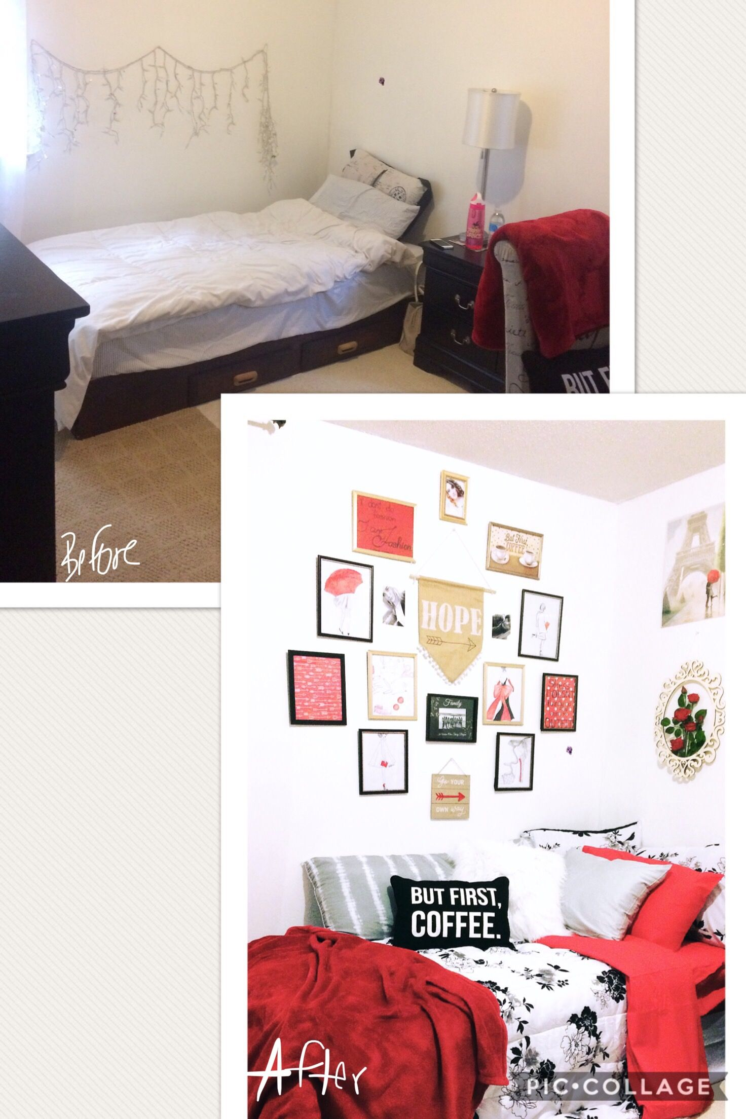 Wall Decor Pictures Organization Small Bedroom Makeover Cozy