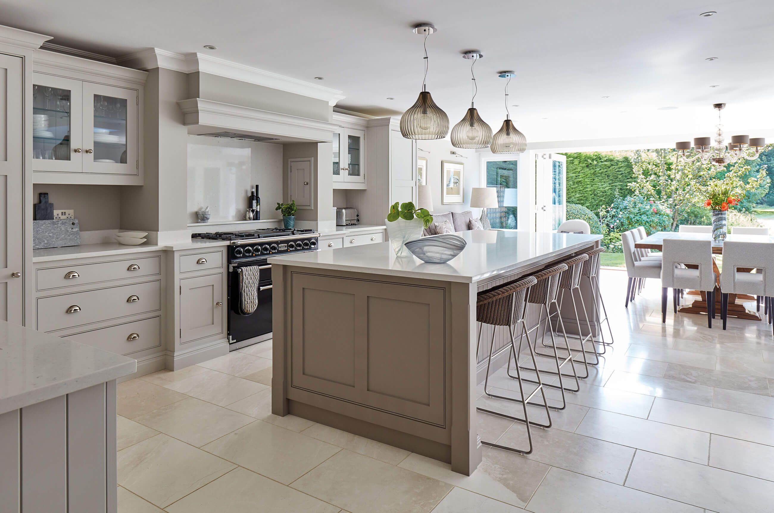 Best Modern Shaker Kitchen In 2020 Open Plan Kitchen Living 640 x 480