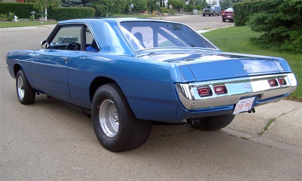 1970 Dodge Dart Factory Drag Car Barrett Jackson Auction Company