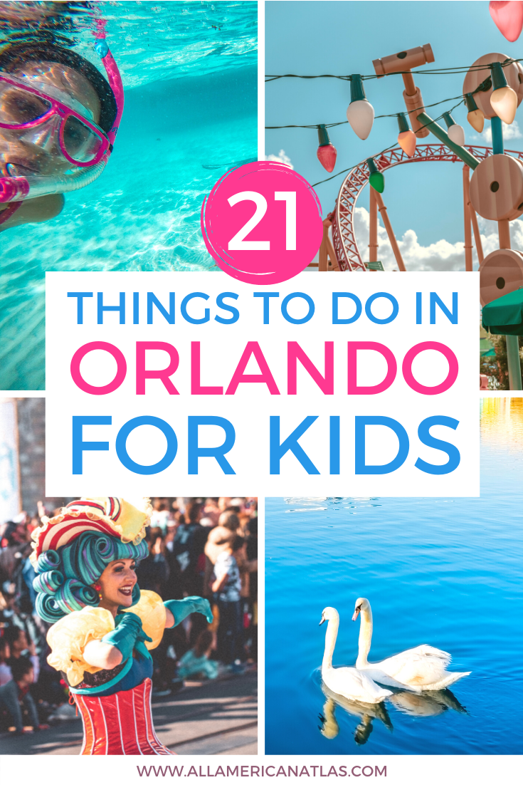 21 Things To Do In Orlando For Kids Orlando Travel Things To Do Orlando Orlando Florida Disney