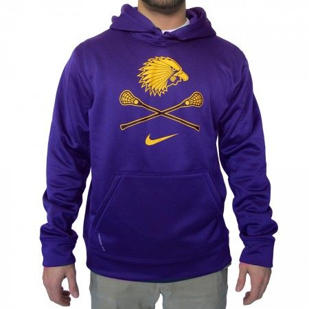 LacrosseUnlimited Nike KO Iroquois Lacrosse Hoody. #lax