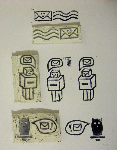 How To Make Your Own Rubber Stamps Homemade Ideas For