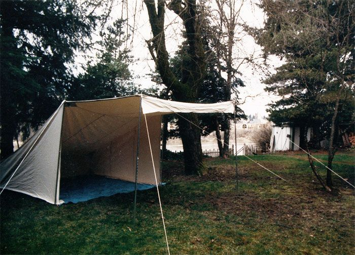 beckel canvas / baker tent : canvas kitchen tent - memphite.com