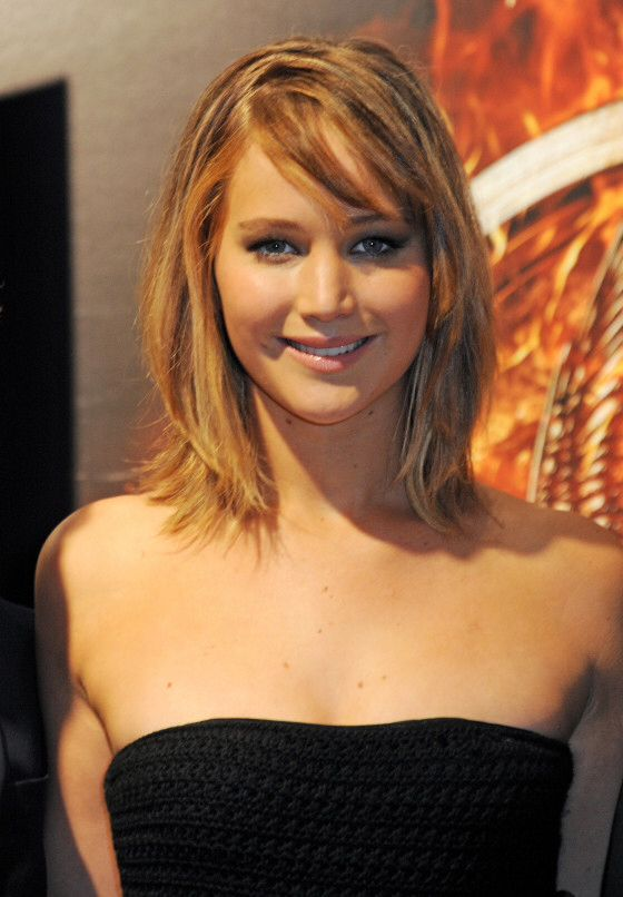 Love Jennifer Lawrences Sexy Long Bob Hair Jennifer Lawrence