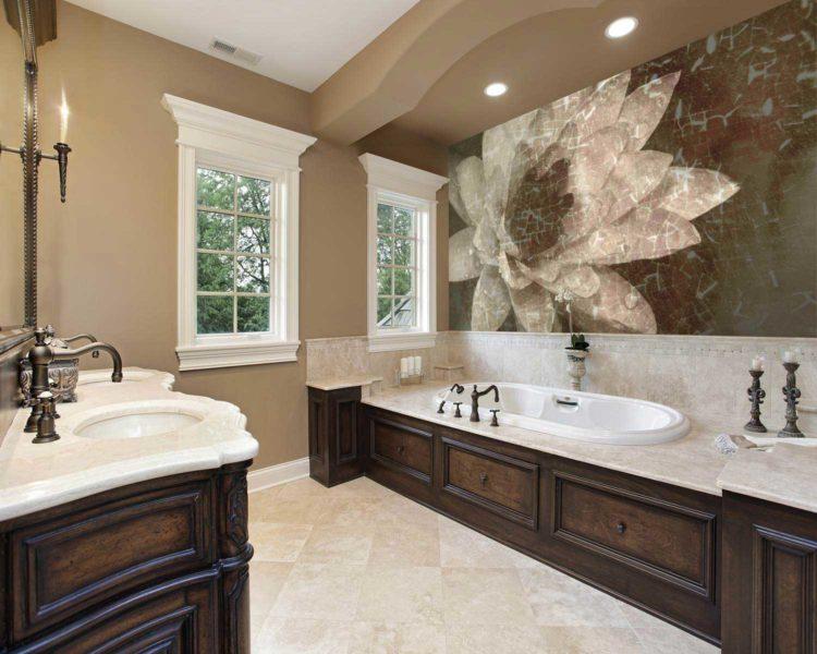 20 Bathrooms With Beautiful Wall Decor   Bathroom wall decor, Girls bedroom wallpaper, Target ...