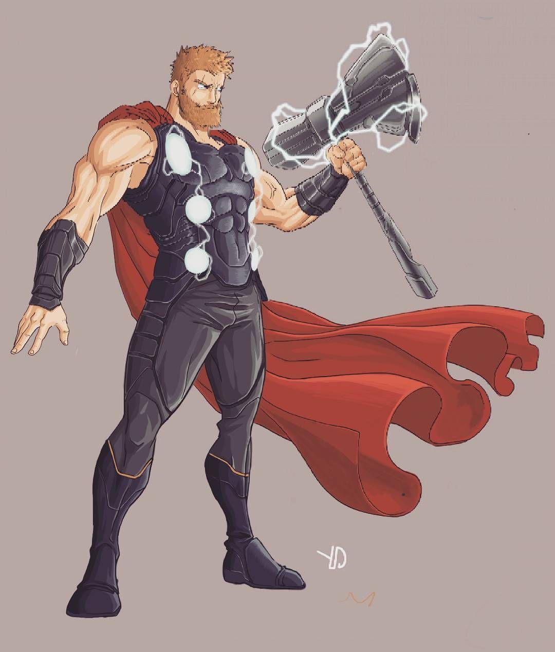 Shiryan Thorragnarok Thor Avengers Avengersinfinitywar