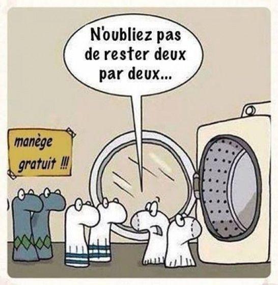 Le Lave Linge Cest Lîle De La Tentation Des Chaussettes