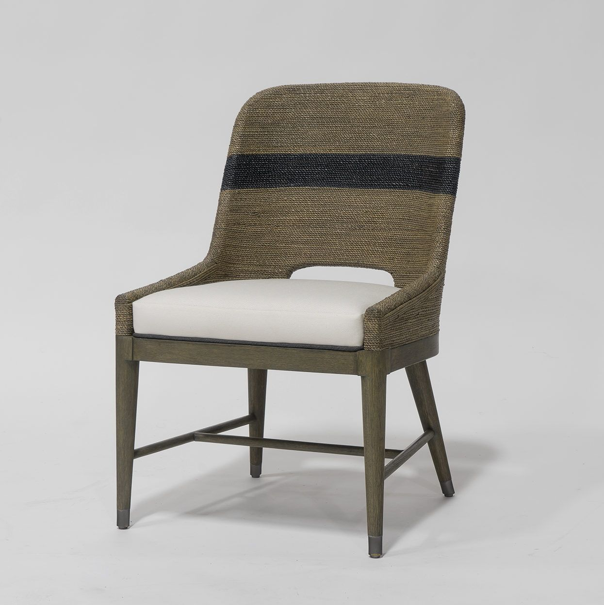 PALECEK  Kirk Nix Collection  Fritz Rope side chairPALECEK  Kirk Nix Collection  Fritz Rope side chair   Knox  . Palecek Dining Chairs. Home Design Ideas
