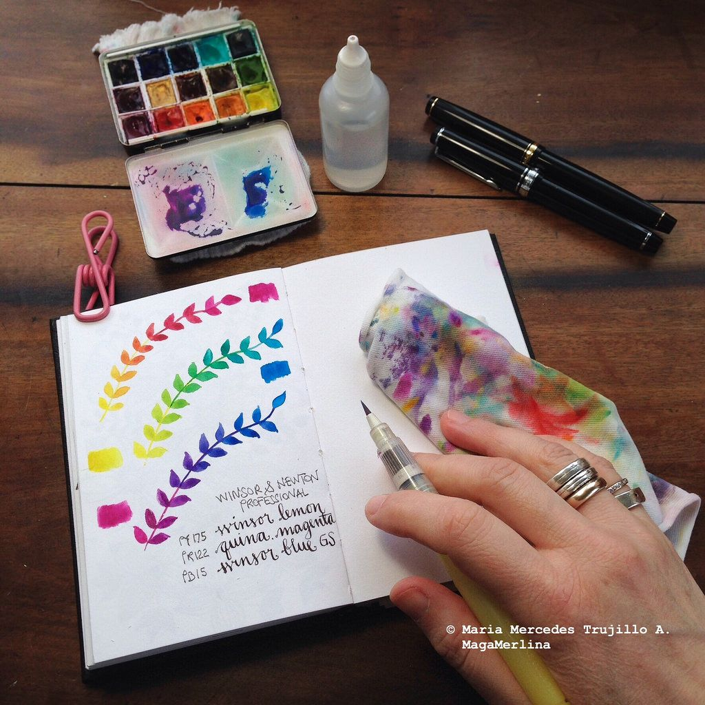 Mixing Primaries | Primary colors, Watercolor and Color mixing chart