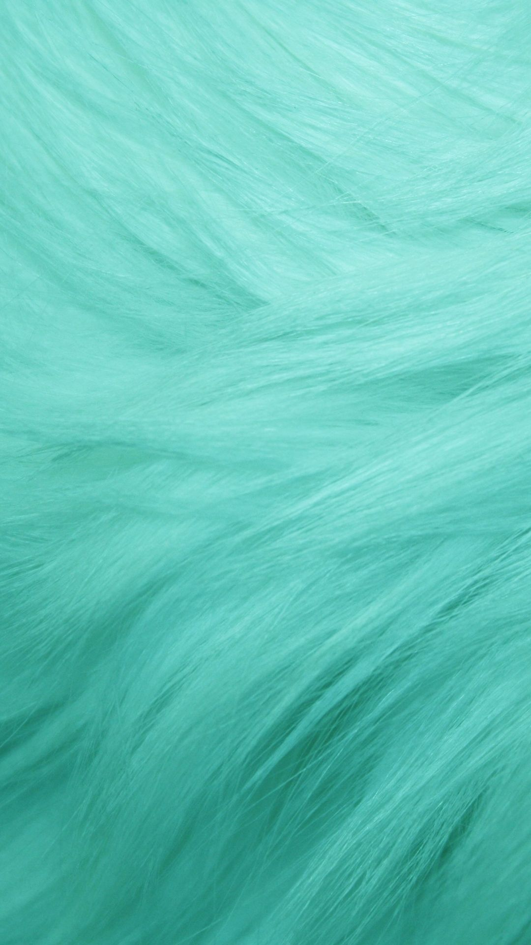 Teal Fur Texture Tap to see more fluffy wallpapers