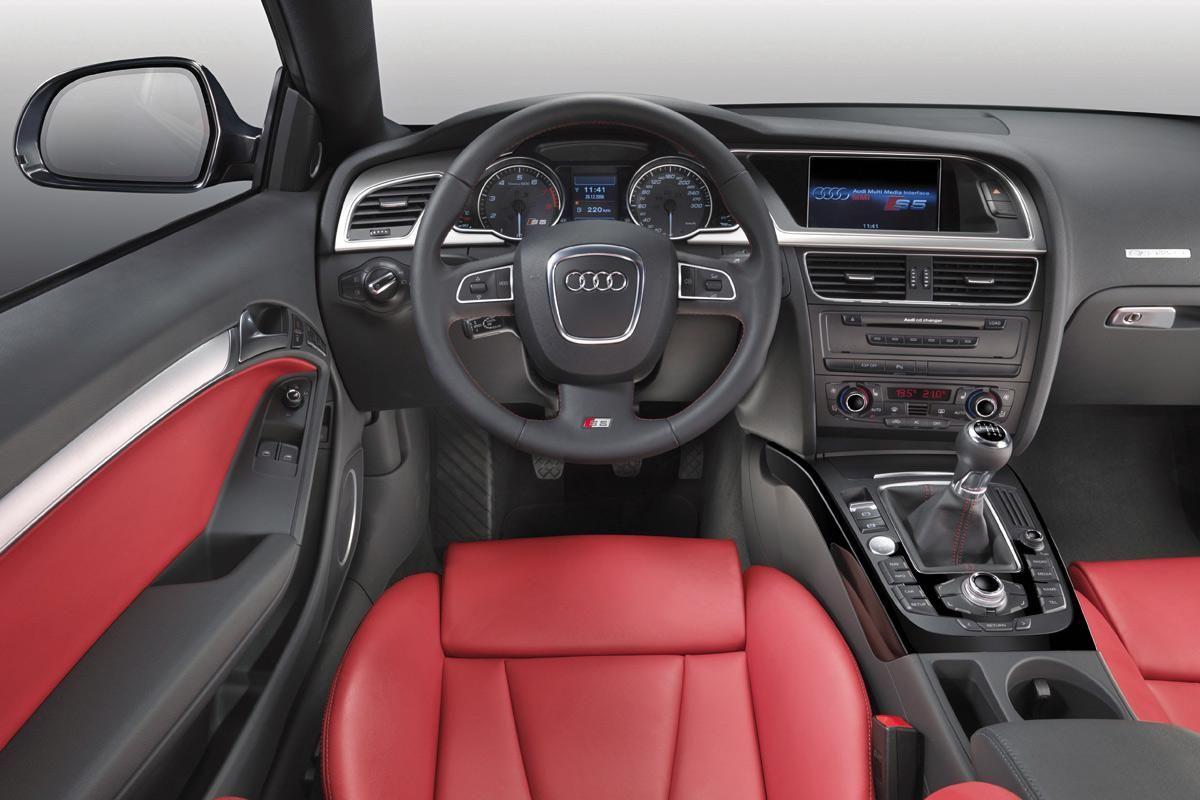 Audi S5 Coupe Imagen Interior Coche Fotos Coches Audi S5 Audio De Automoviles Audi