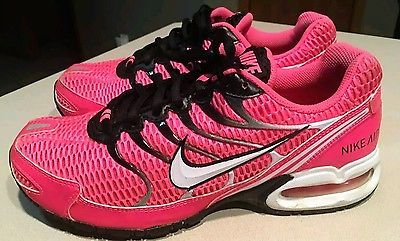 Nike Air Max Torch 4 Women's Running Shoes Pink Black White 343851-610 Size 6.5
