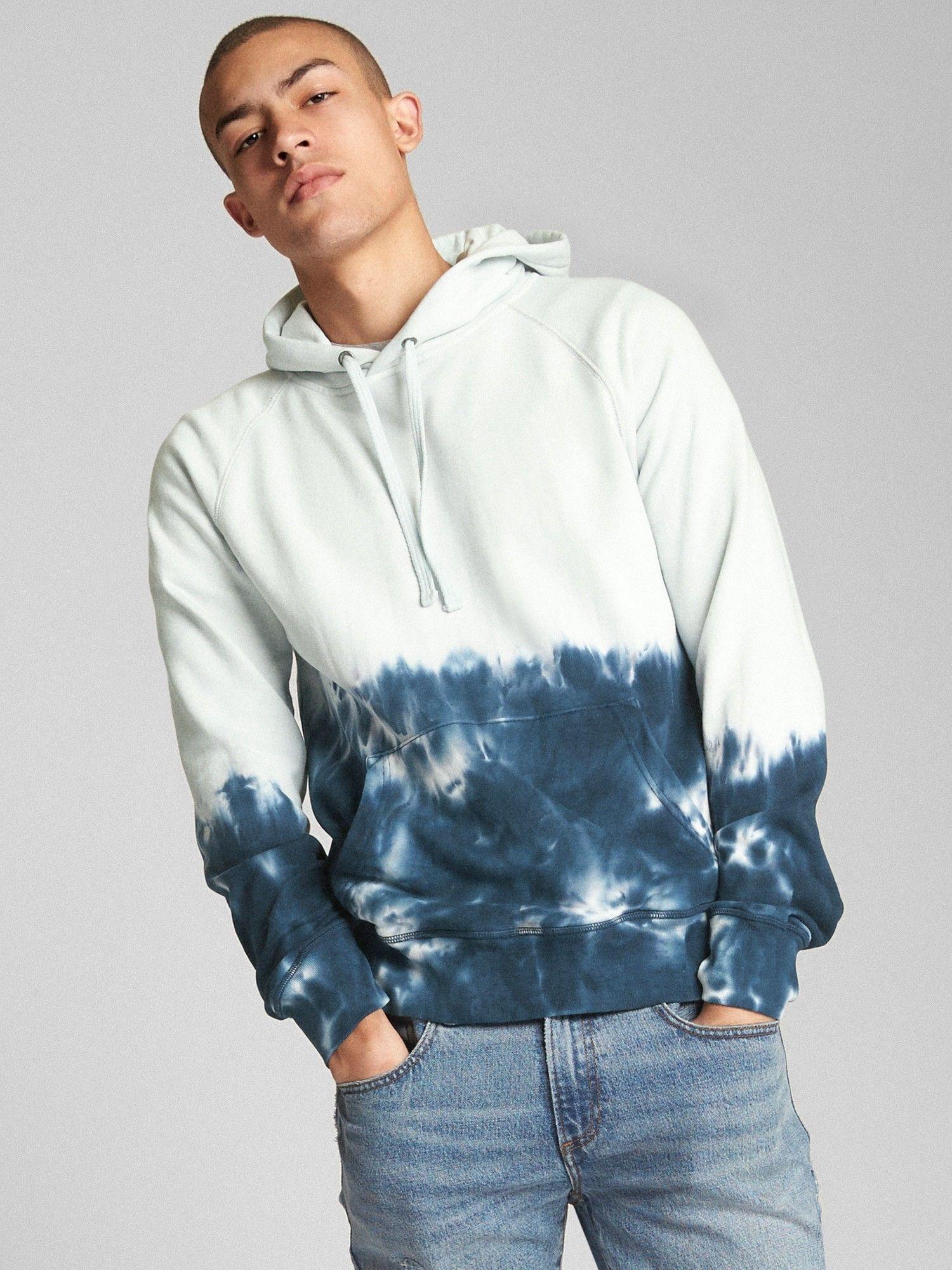 Gap Mens Dip Dye Pullover Hoodie Flame Xl Regular Tie Dye Fashion Fashion Mens Fashion [ 2000 x 1500 Pixel ]