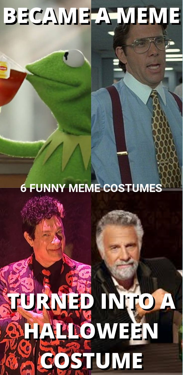 Halloween Meme Costume Ideas 2019 Meme costume