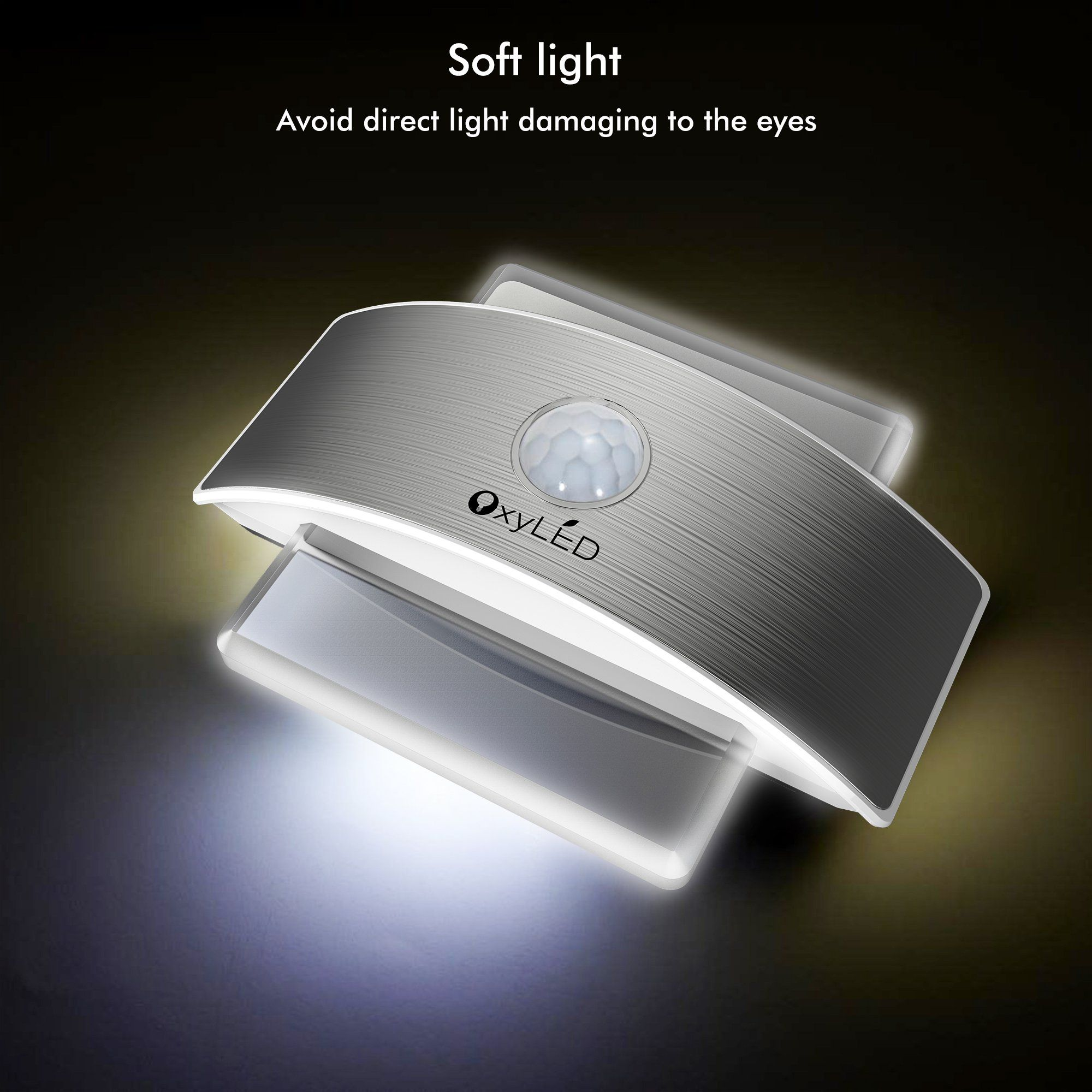 Oxyled wall light rechargeable wall lamp up and down wall light