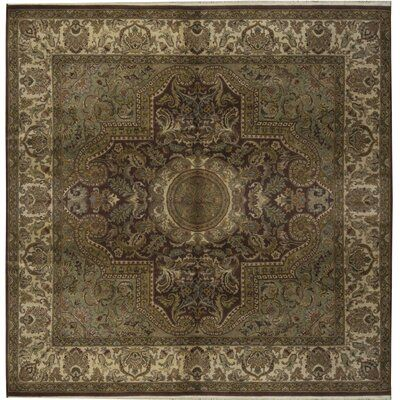 Bokara Rug Co Inc One Of A Kind Magnolia Hand Knotted Square 8