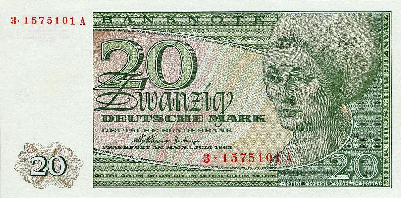 20 dm bbkII berlin vs.jpg Geld, Geldscheine